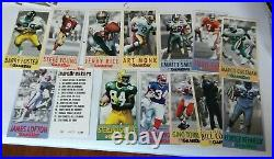 1992 1993 GAMEDAY GAME DAY GAME BREAKERS REDEMPTION SET MT WithEMMITT SMITH