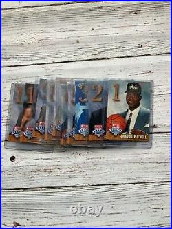 1992 Hoops Draft Redemption Set (10 Cards) Shaq Shaquille Alonzo Zo