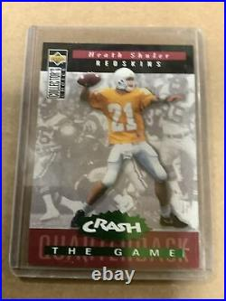 1994 Collector's Choice Crash The Game Redemption Heath Shuler Card #c7
