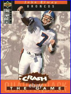 1994 Collector's Choice Crash the Game Bronze Redemption Card #C6 J. Elway