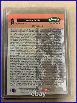 1994 Collector's Choice Crash the Game Gold Redemption Card #C26 D. Scott