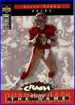 1994 Collector's Choice Football Crash the Game Gold Redemption Cards