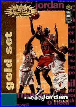 1995-96 Collector Choice Crash Game Scoring Gold Redemption Basketball Card Pick