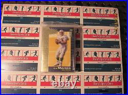1995 Collector's Choice Crash The Game Gold Redemption 30 Card Sealed Set