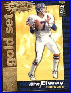 1995 Collector's Choice Crash The Game Gold Redemption Card #C2 John Elway