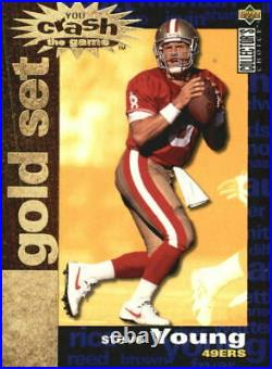 1995 Collector's Choice Crash The Game Gold Redemption Card #C5 Steve Young