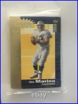 1995 Collector's Choice Crash the Game GOLD 30 CARD SET UNOPENED Football