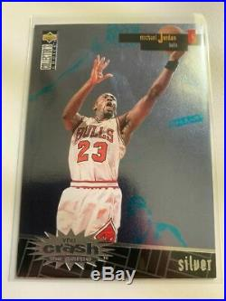 1996-97 Collector's Choice Crash the Game Silver Redemption #R30 Michael Jordan