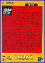 1996-97 Collectors Choice Crash the Game Scoring 2 Redemption Card #R27 Malone