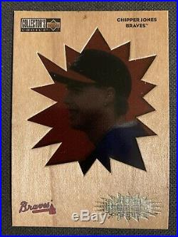 1996 Collectors Choice You Crash The Game Redemption Gold CHIPPER JONES Braves