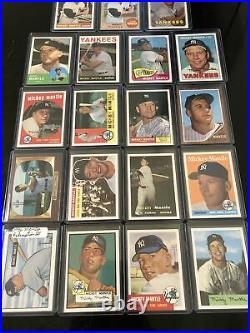 1996 Topps Redemption Set Mickey Mantle 19 Cards Reprint Set VERY RARE HOF