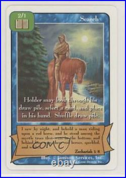 2000 Redemption Collectible Card Game C Starter Deck 1st Print Search gl9