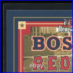2001 Fleer Boston Red Sox 100th Redemption Card Field The Game