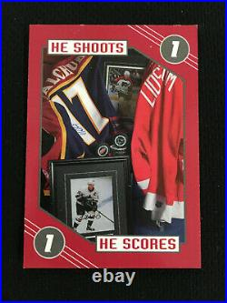 2003 Redemption Unused Odd Ball He Shoots He Scores In The Game Hockey Card