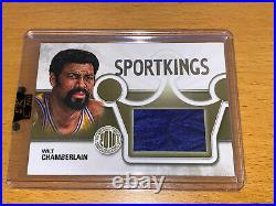 2010 Sportkings WILT CHAMBERLAIN game-used shorts /9 National Redemption