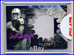 2015 Topps Diamond Violet Patch Auto Marcus Mariota RC In Hand Redemption /25