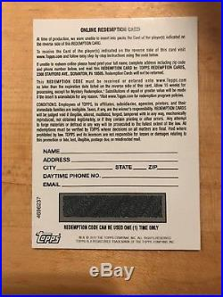 2017 Bowman Chrome Redemption Card Cody Bellinger auto red refractor 1 of 5