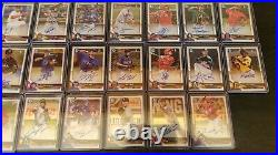 2018 Bowman Chrome Auto & Color Refractor Investment Lot 214 Cards-HUGE upside