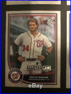 2018 Topps Big League All Star Game Redemption 6 Card Set Mike Trout Aaron Judge