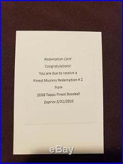 2018 Topps Finest Mystery Redemption #2 Signed Auto 11390 Ohtani Acuna Torres