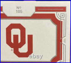 2020 National Treasure CeeDee Lamb College Silhouettes Bowl Game Patch 3/10 RPA