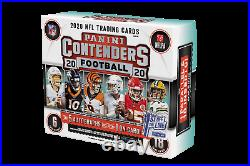 2020 Panini Contenders Football Cards FOTL First Off The Line NFL Hobby Box