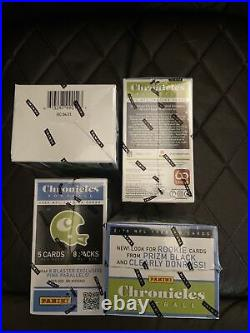 2020 Panini NFL Chronicles Football Cards LOT OF 4 Blaster Boxes FACTORY SEALED