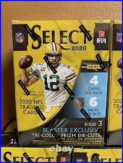 2020 Panini SELECT NFL Football BLASTER BOX (24 Cards) IN HAND Fast Shipping