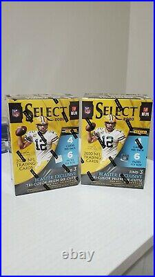 2020 Panini SELECT NFL Football Trading Cards Blaster Box NewithSealed -Lot Of 2