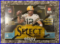 2020 Panini Select NFL Trading Cards Blaster Exclusive Factory Sealed
