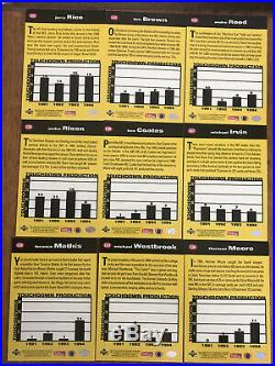 95 Collectors Choice UD NFL You Crash The Game GOLD 30 Card Set /Free Shipping