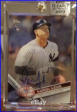 Aaron Judge 2017 Topps Clearly Authentic RC Auto REDEMPTION SEALED Yankees RARE