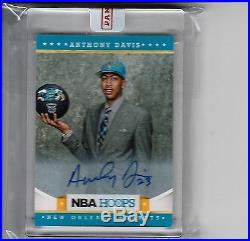 Anthony Davis 2012-13 Hoops Rookie Autograph Sp Redemption Rc Auto Panini Seal