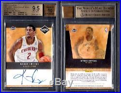 BGS 9.5 2011-12 Limited Draft Pick Redemption Autograph Kyrie Irving RC G00 1147