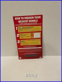Fortnite Wildcat Code With2000 Vbucks US eshop Redemption Physical Card Switch