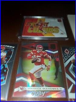 Kansas City CHIEFS lot With Game Used Patrick Mahomes Tyreek Hill HELAIRE Lot 06