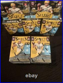LOT OF 2 Panini Select 2020 NFL Blaster Box (24 Cards) BRAND NEW Factory Sealed