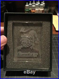 Lannister Glass House Card Game of Thrones CCG LCG FFG Redemption