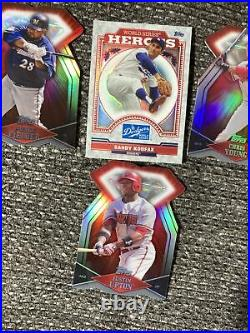 Lot of 30 2011 Topps Diamond Deed Die Cut Baseball Cards Rare redemption cards
