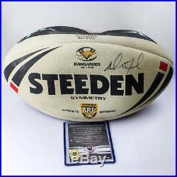 NRL 2012 RUGBY LEAGUE Limited Edition'Match-Used Ball' Redemption Card #2/6