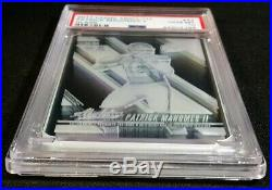Psa 10 1/1 Patrick Mahomes II Glass Case Hit Rc 2017 Ssp Rookie Maybe 10 Made