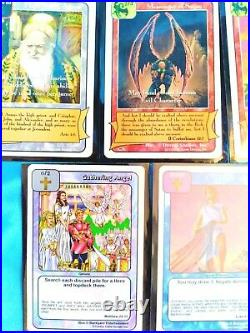 REDEMPTION TRADING CARD GAME Lot of 11 Cards & Covers
