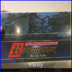 Rare! Redemption + 1995 Christian religious bible card game NEW! Sealed B