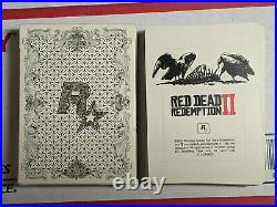 Red Dead Redemption 2 Collectors Box (Sony PS 4, 2018) Cards Deck. Only