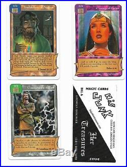 Redemption NINE Booster Packs + 1995 Christian religious bible card game NEW