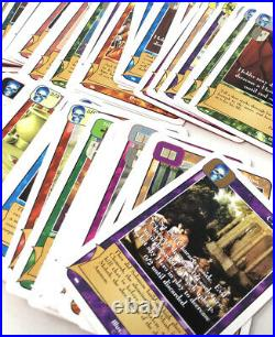 Redemption Trading Card Game LARGE Lot CCG TCG From Booster Packs 114 Cards MINT