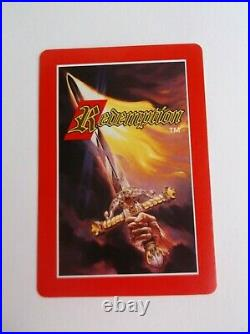 Redemption Trading Card game CCG TCG Collectible Ultra Rare Many Cards Available