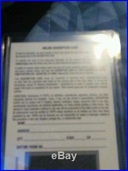 Russell Wilson Autograph Redemption