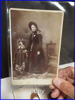Salvation Army 11 Original Photograph Cabinet Cards Boston- William Booth
