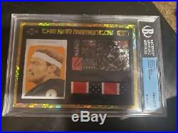 Walter Payton Auto & Game-used Jersey 2018 The Bar Bgs 10 Auto- Sharp Colors